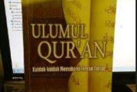 Pengertian Ulumul Qur'an Menurut Para Ahli