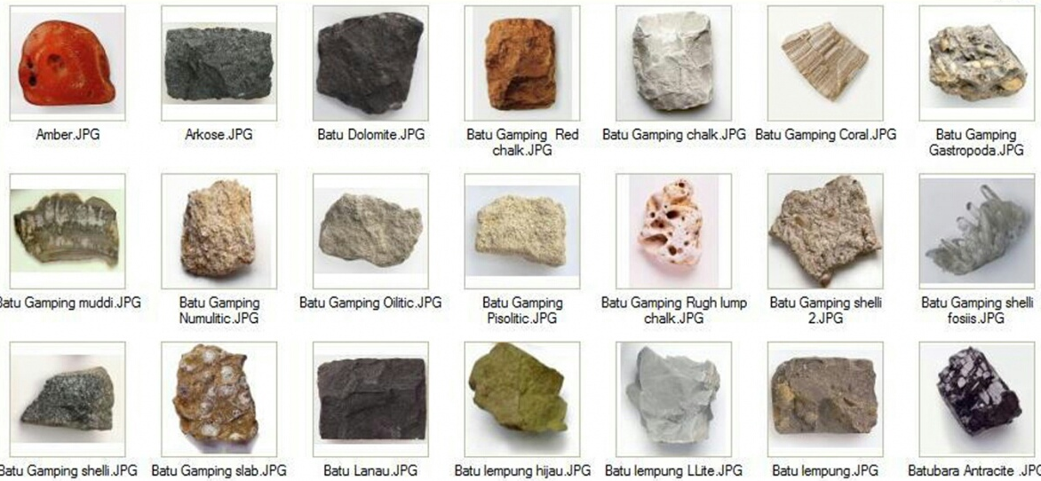 Jenis Batuan dan Pemanfaatan