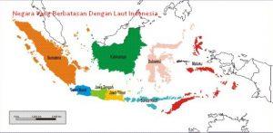 Negara Yang Berbatasan Dengan Laut Indonesia