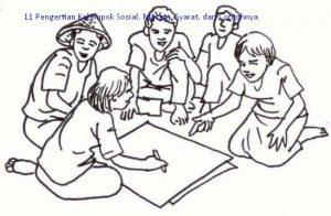 Pengertian Kelompok Sosial, Macam, Syarat, dan Contohnya