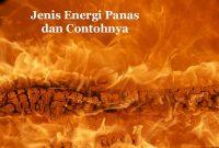 Macam Energi Panas
